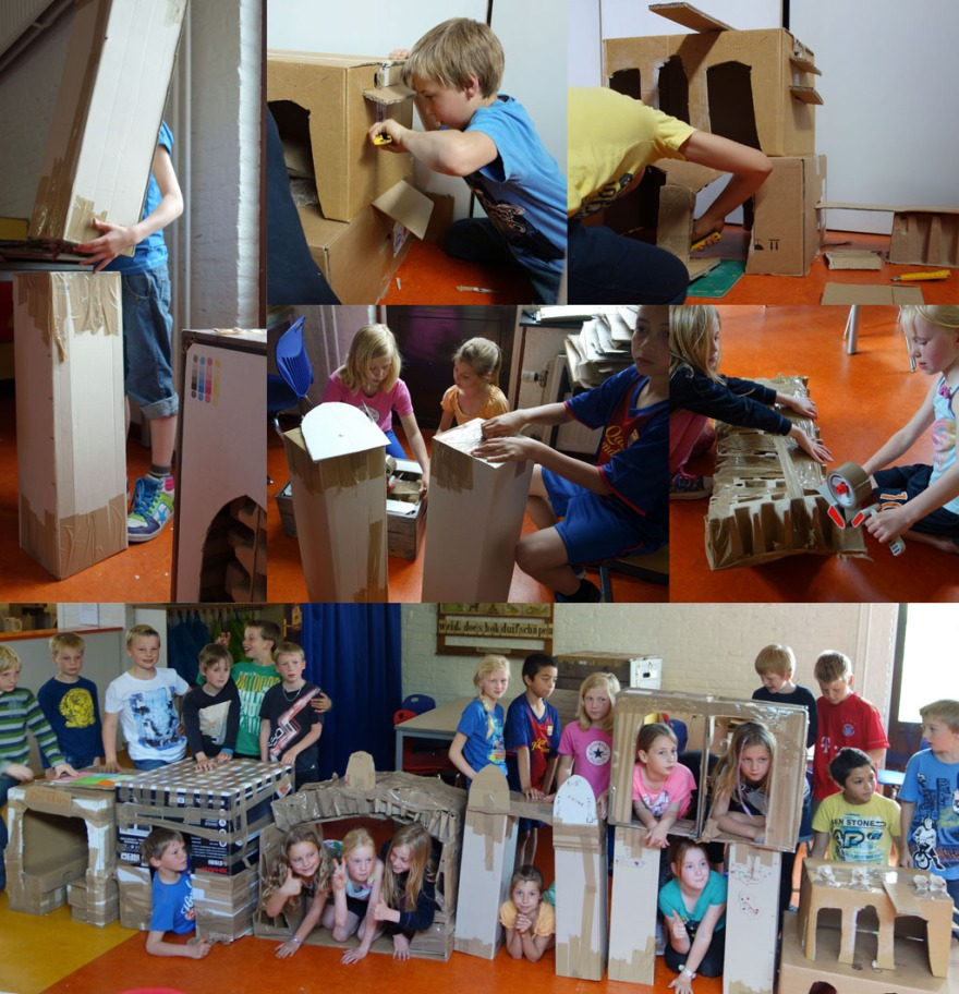 collage groep 5-6