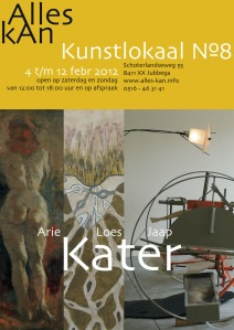 affiche Drie keer Kater