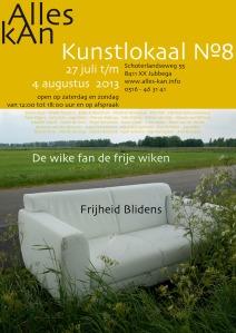 affiche Frijheid Blidens