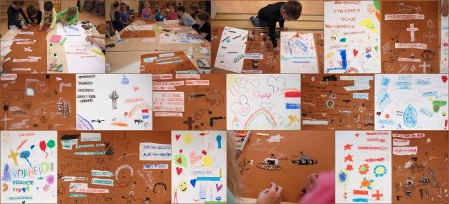 Schalmei groep 4-5 collage