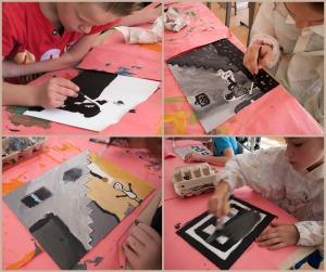 Schalmei schilderen groep 6-7a