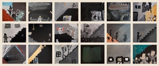 Schalmei schilderijen groep 6-7a