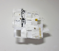 no problem (recycling houses) 2013 kwist-uitnodiging