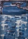 Nies de Vuijst, Zonder titel, acryl op linnen, 140 x 100 cm.