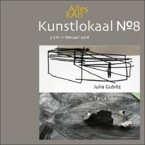 Voorblad van het boekje bij de tentoonstelling van Tanja Isbarn en Julia Gubitz