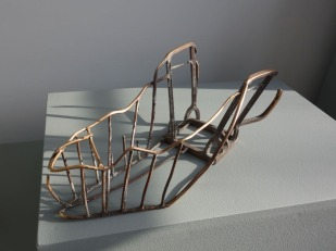 Julia Gubitz, 'Spielgitter', brons