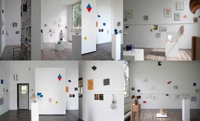 Overzicht van de tentoonstelling Jubel