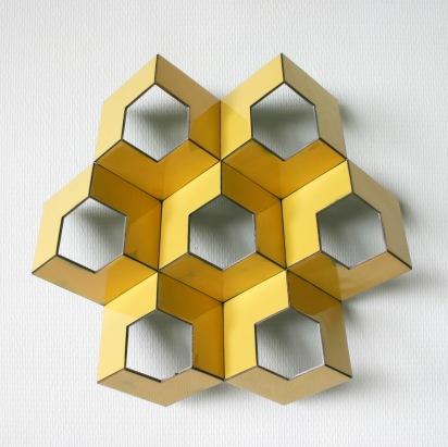 Structuur in geel 2- ©Henk Rusman2018