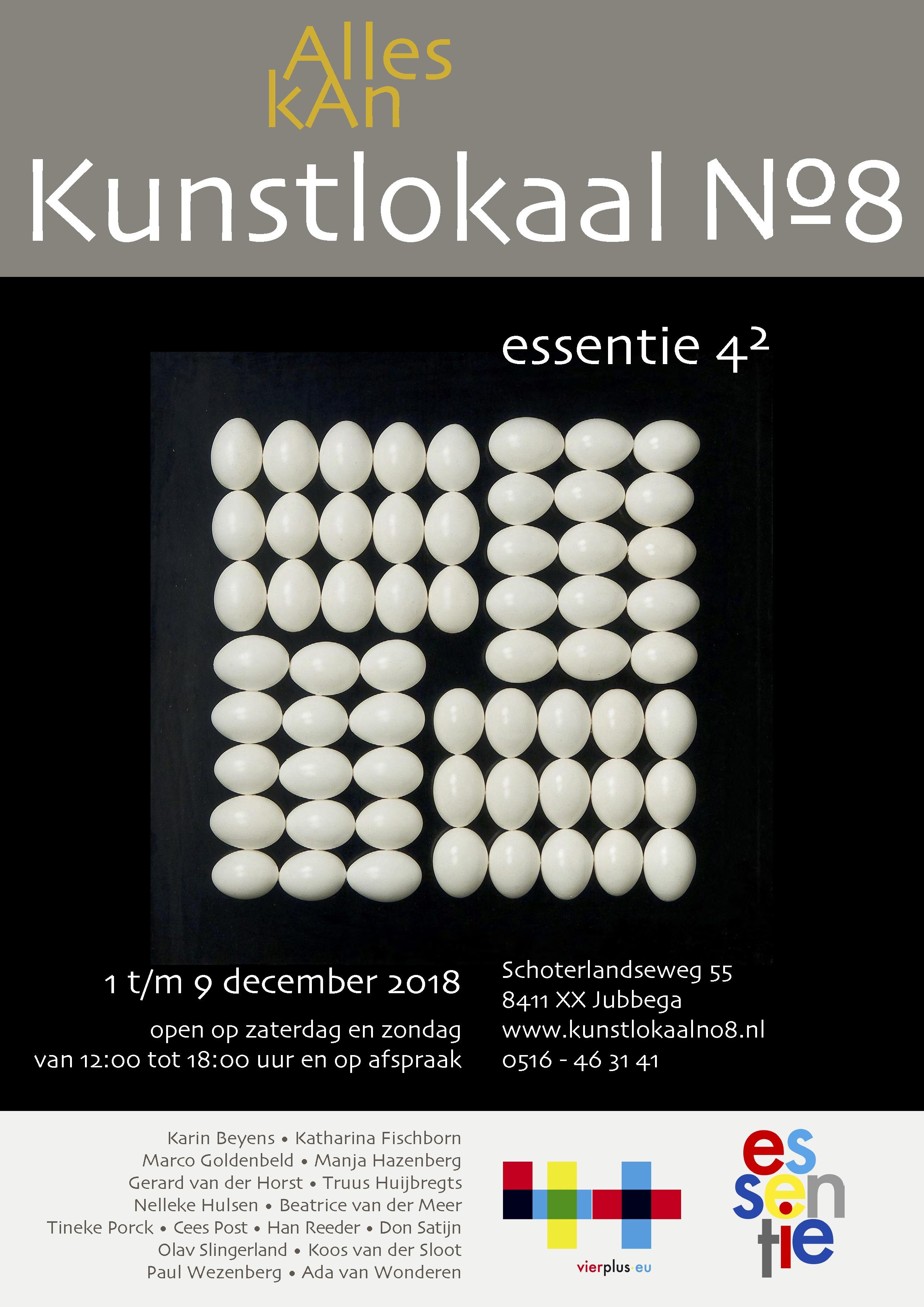 affiche essentie vier kwadraat