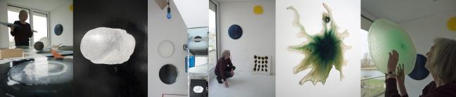 Ilona Hakvoort, atelier