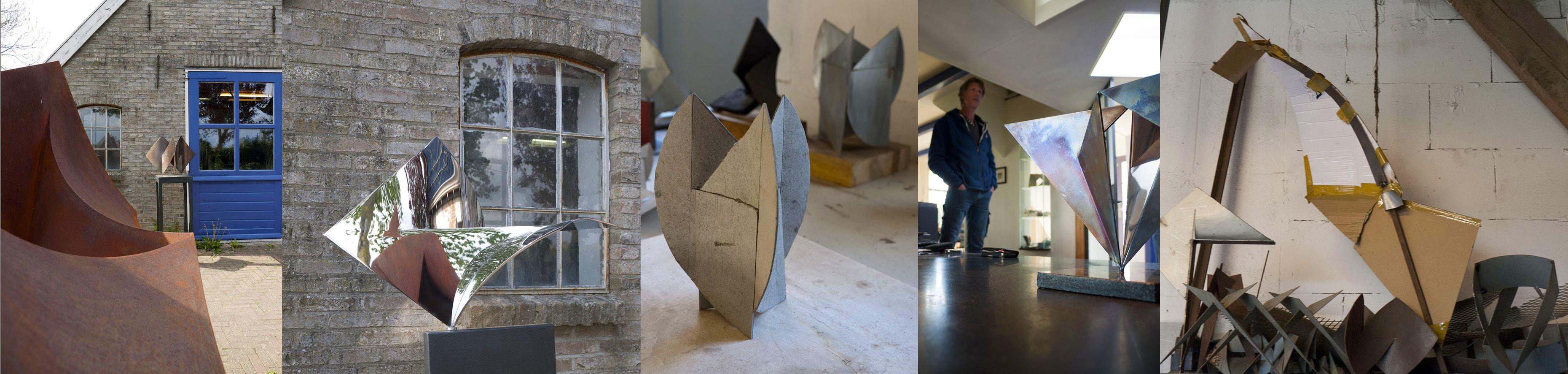 Het atelier van Marco Goldenbeld
