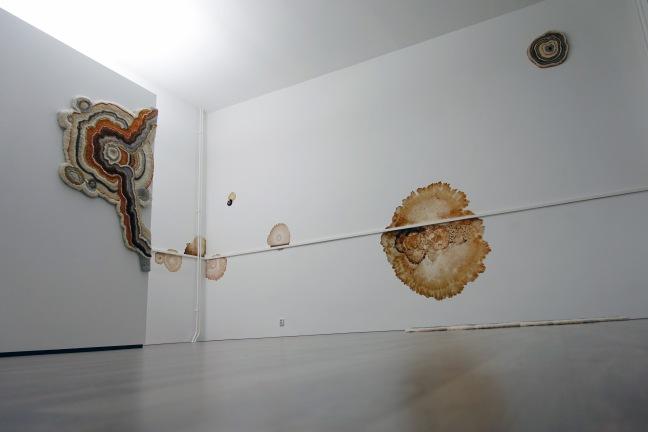 in-situ installatie Lizan Freijsen in Kunstlokaal No8 Jubbega