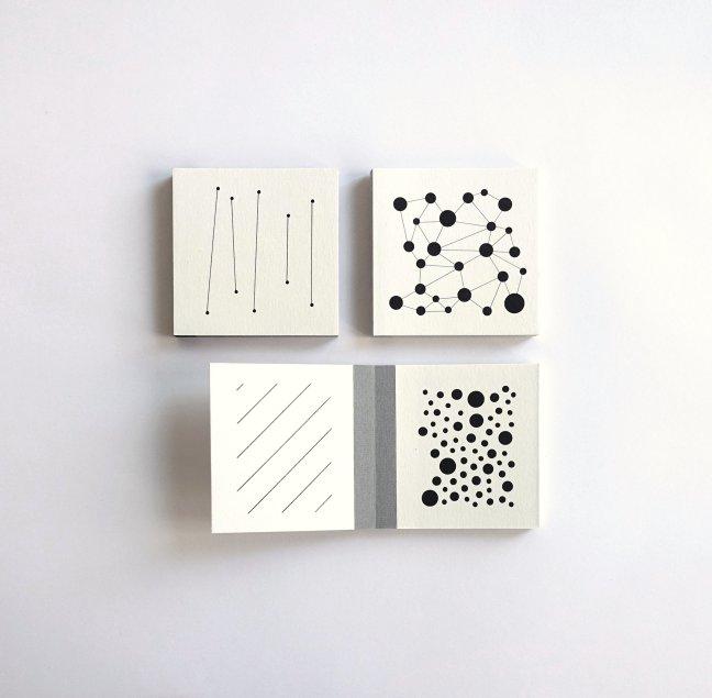 #7 Carrie Meijer, blokboekje, handgemaakt, 10 x 10 cm