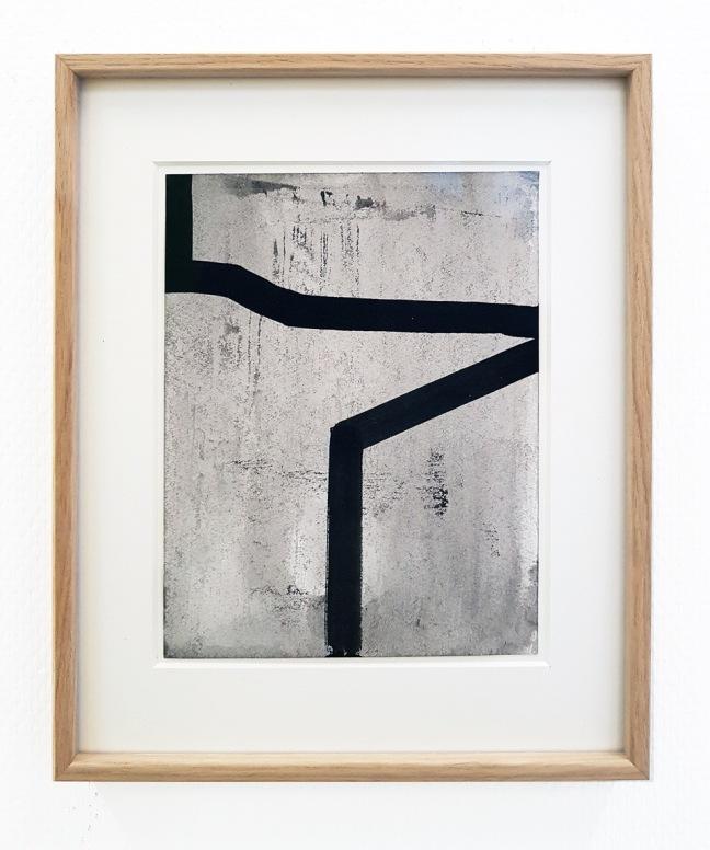 #32 Rudy Lanjouw, Zonder titel, acryl op papier, 22,5×16,5 cm