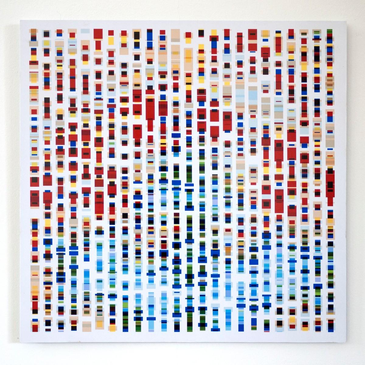#15 Hans Kleinsman, Zonder titel, print op dibond, 29x29 cm