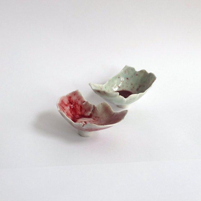 #21 Moki Last, Precious little thing (aandachtsschaaltjes), porselein, ± 7x10x7 cm