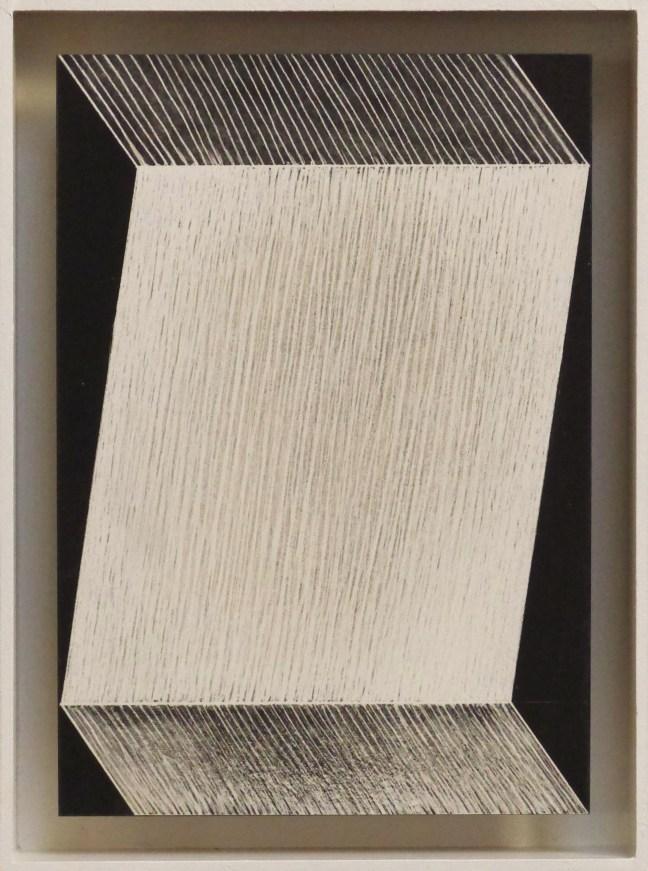 #28 Jurjen Ravenhorst, Zigzag IV, steendruk (oplage 9), 24,5 x 18,2 cm