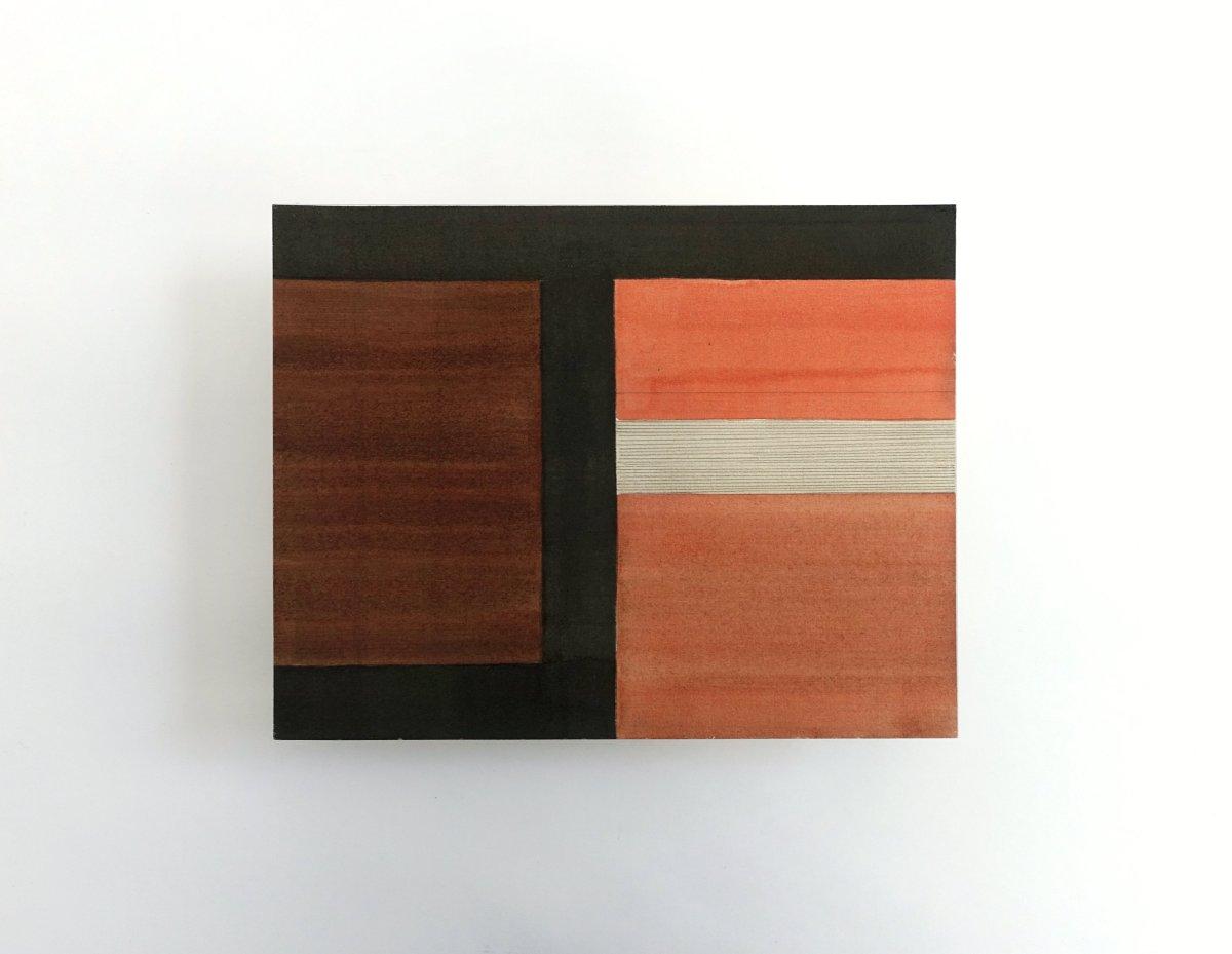 #51 Antón Hurtado, uit de serie Deseables, gemengde techniek op papier, 21,5 x 27,5 cm