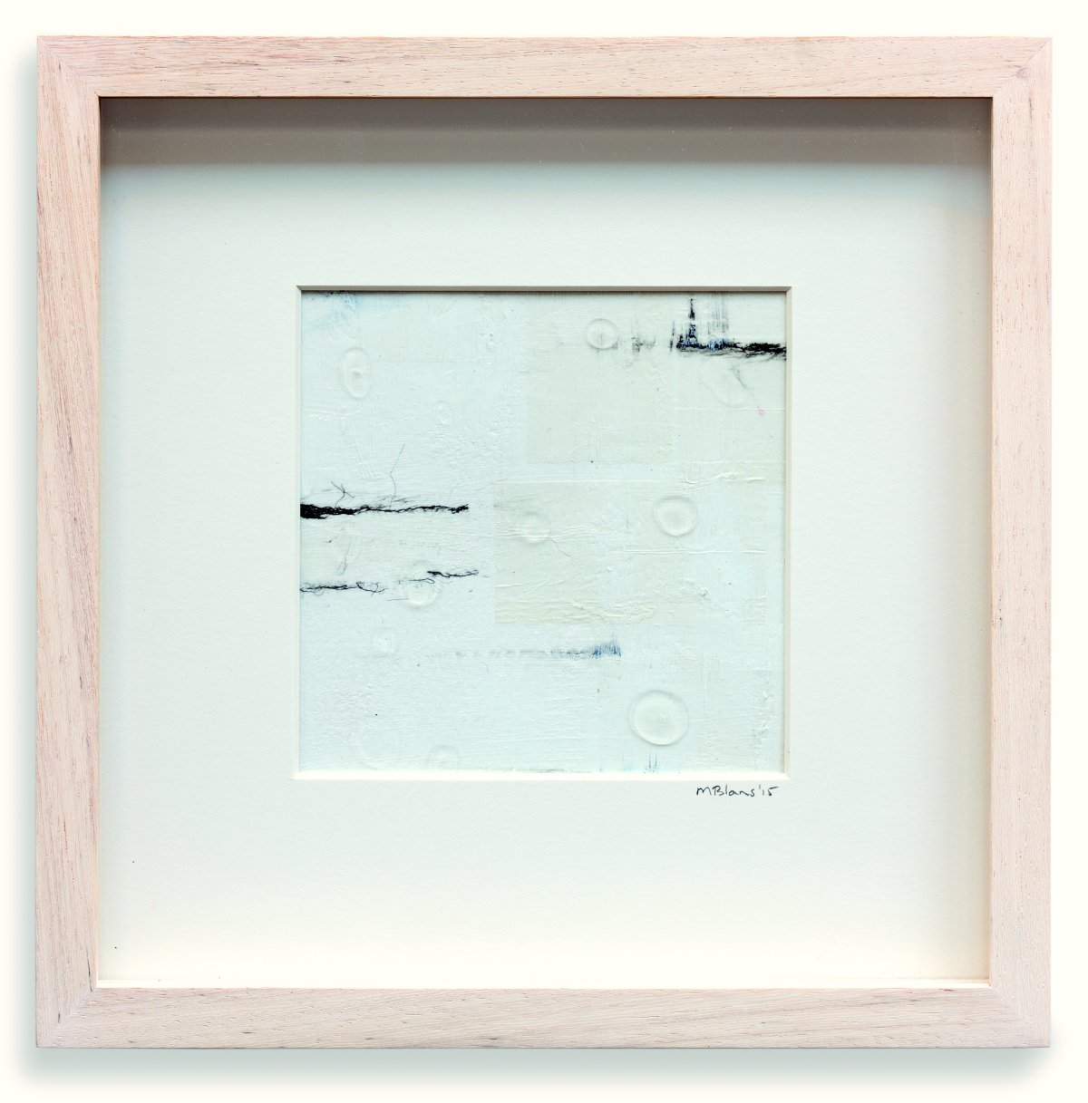 #47 Maartje Blans, Rorate Caeli, gemengde techniek op papier, 24.5x24.5x2 cm
