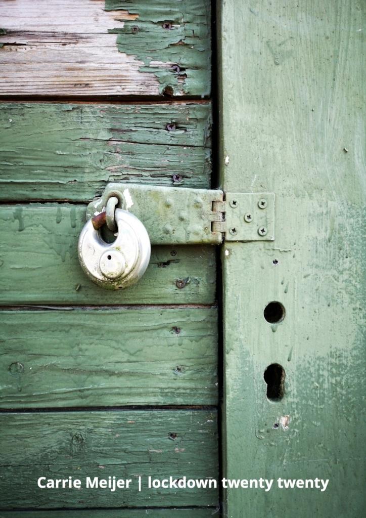 Lockdown twenty twenty, Carrie Meijer