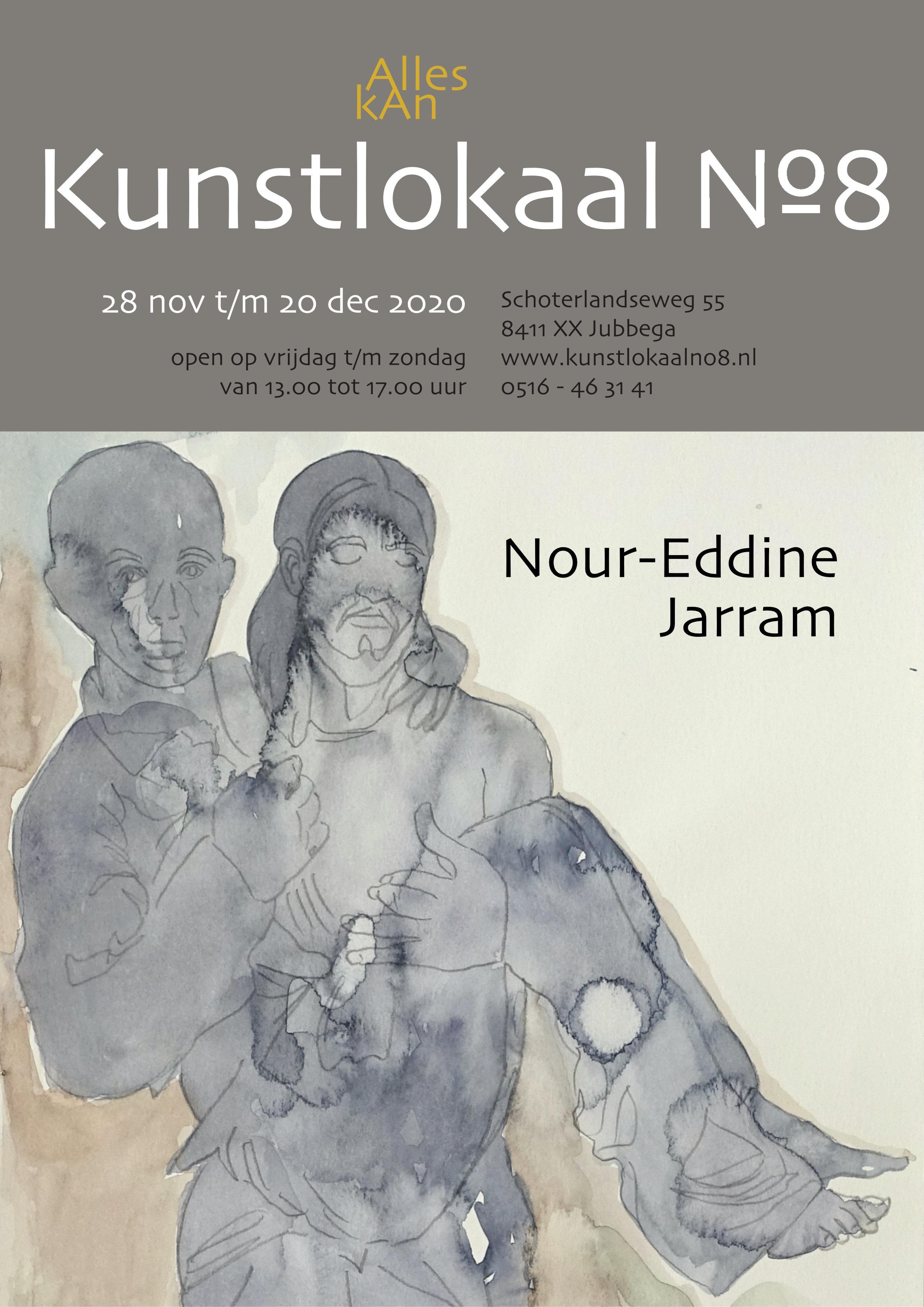 affiche Nour-Eddine Jarram